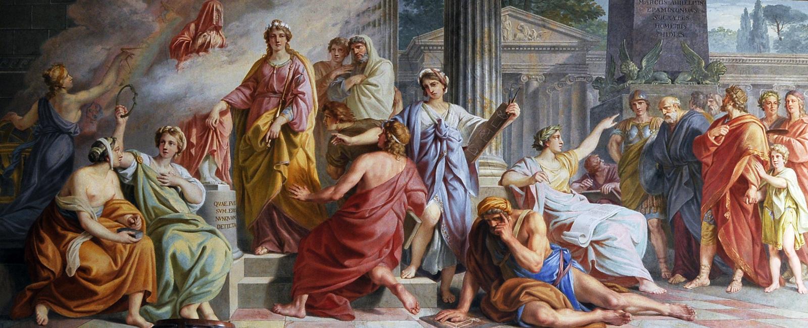 La scuola di Atene